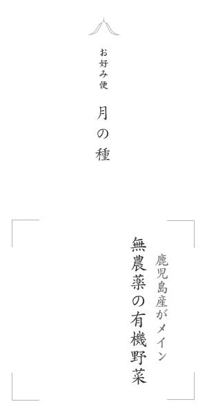 寿山の月の種